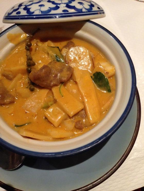 Baan thais restaurant thailandais nation curry lait de coco rouge celine aime