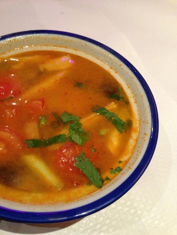 Baan thais restaurant thailandais nation soupe thaie bouillon celine aime
