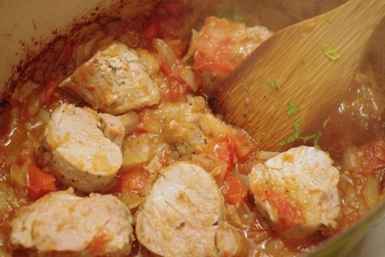 recette filet mignon porc cocotte tomates oignons carré de boeuf celine aime celinem