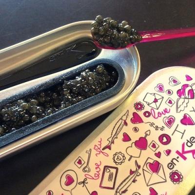 Menu Saint Valentin en-k kaviari caviar fete luxe partage pour deux facile idees celine aime celinem