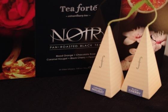 Tea forte maison the sachet pyramide design feuille celine aime celinem