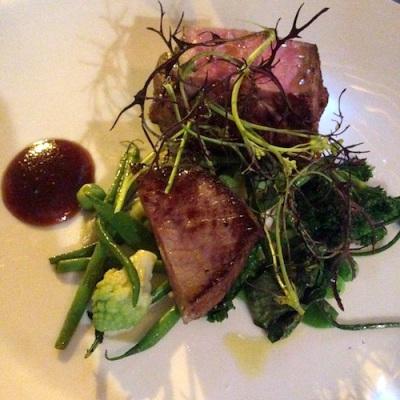 blue valentine restaurant paris celine aime porc kintoa
