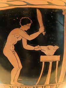 alimentation histoire grece antique cochon  histoire