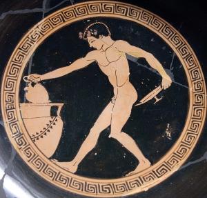 baquet vin grece antique alimentation histoire