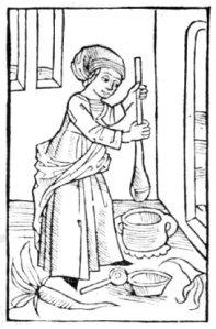 histoire du beurre le faux et le vrai cuisson brun noir fabrication moyen age