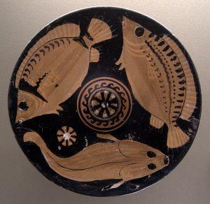 alimentation poissons crustacés grece antique