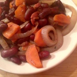 Recette haricots rouges et noirs facon ducasse livre cuisine nature celinem