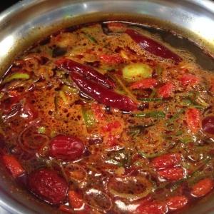 Shabu sha restaurant fondue japonaise chinoise bouillon épices celine aime piments