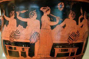 symposium greque antique alimentation