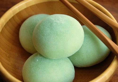 mochi daifuku thé vert
