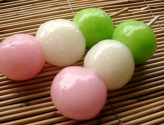 Mochi dango japon