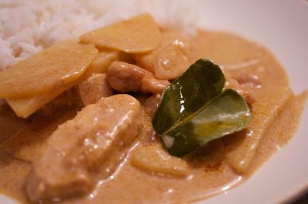 recette thailandaise curry massaman
