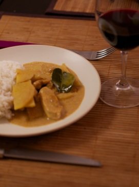 recette curry thai massaman