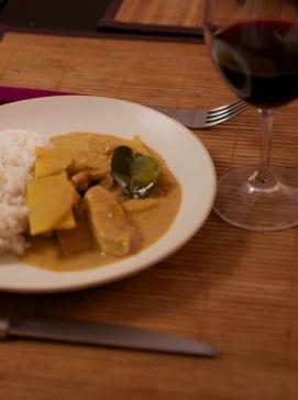 recette curry thai massaman