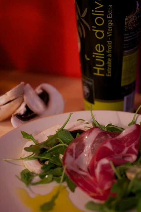 huile d'olive cuvée mistral vierge extra ronds de sorciere recette salade