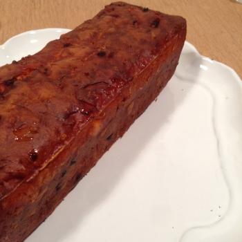 recette de cake au chorizo pour l'aperitif