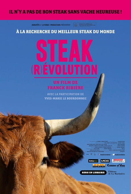 Affiche film steak revolution