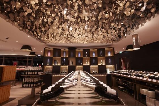 design et vins : la cave du lafayette gourmet