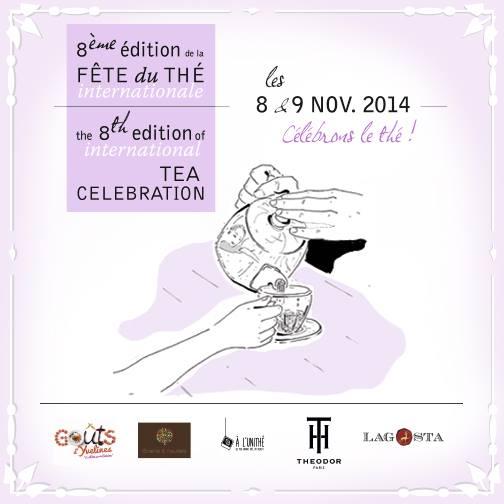 La fete du thé les 8 et 9 novembre